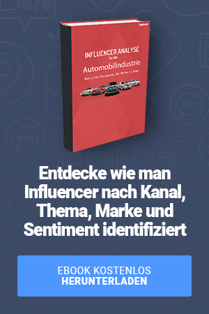 Influencer analysis automibilindustrie