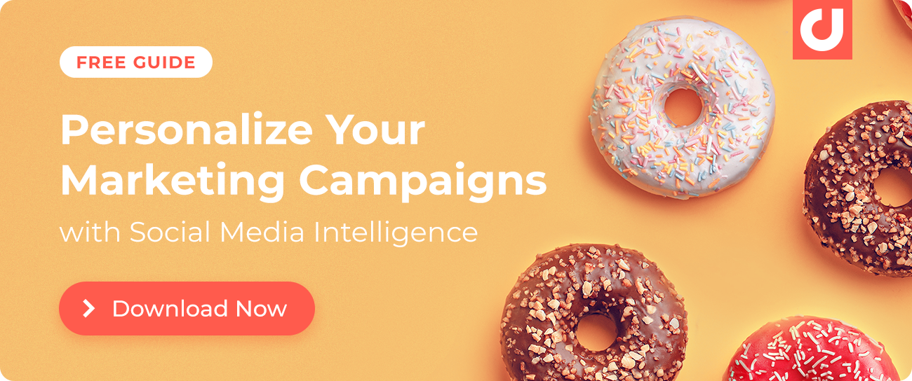 Download our free guide on personalizing marketing campaigns with social media intelligence.