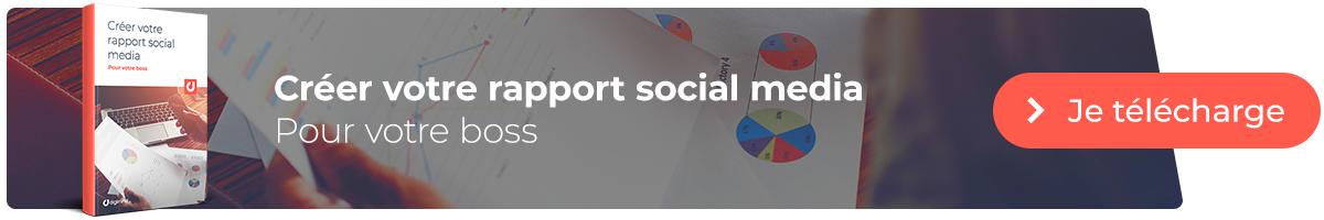 L'ebook : Comment créer le rapport social media idéal pour votre boss