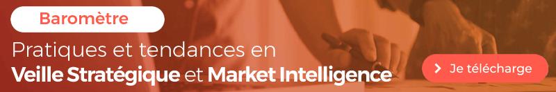 Téléchargez le Baromètre des pratiques en Veille stratégique et Market Intelligence