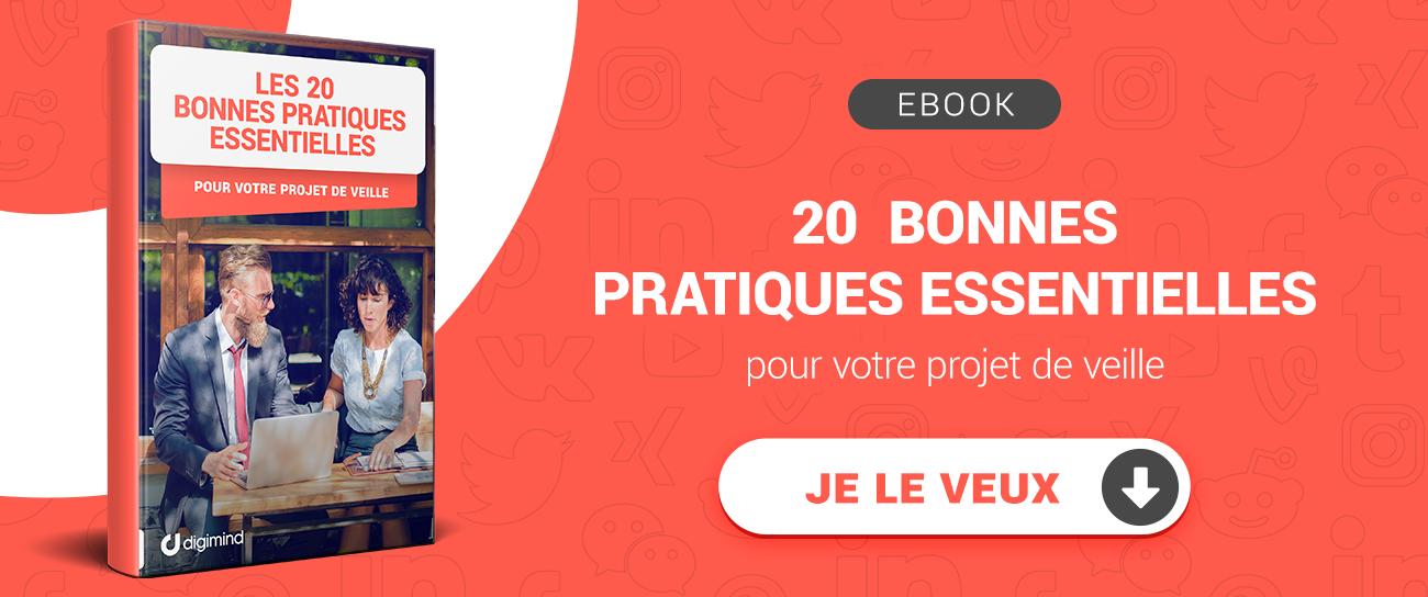 Ebook gratuit : 20 bonnes pratiques essentielles pour votre projet de veille