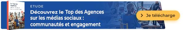 Le Top  2021 des agences  sur les médias sociaux en France