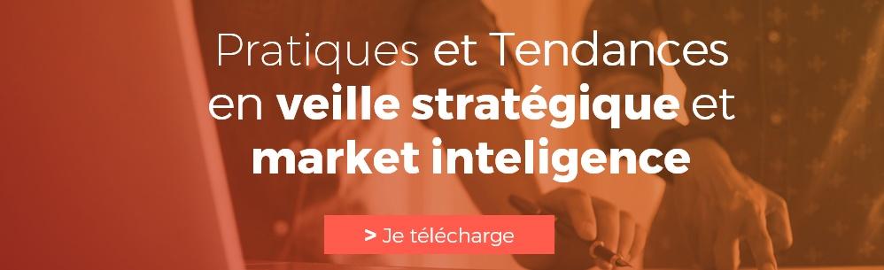 un baromètre sur les pratiques et tendances en veille stratégique et market intelligence par les professionnels.