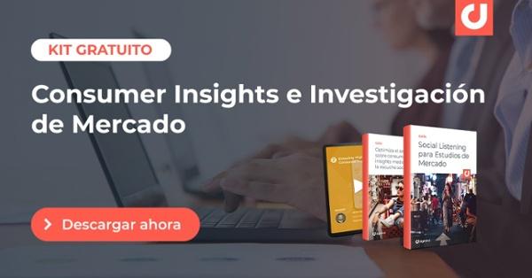 Consumer insights e investigación de mercado