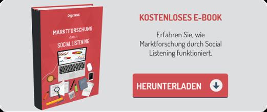E-Book 'Marktforschung durch Social Listening' herunterladen