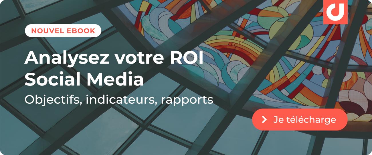 Nouvel ebook : L'Art et la Science du ROI Social Media