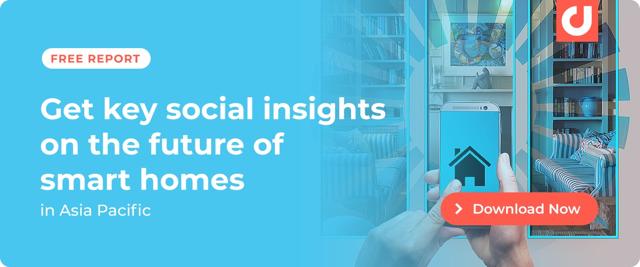 Get key social insights on the future of smart homes in Asia Pacific! Download this report.