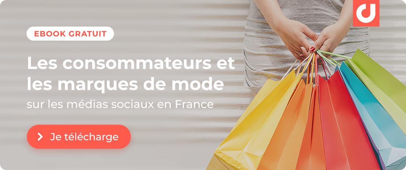 Nouvelle étude : les marques de mode sur les médias sociaux en France