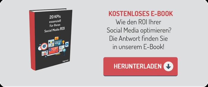 E-Book '20 KPIs essenziell für Ihren Social Media ROI' herunterladen