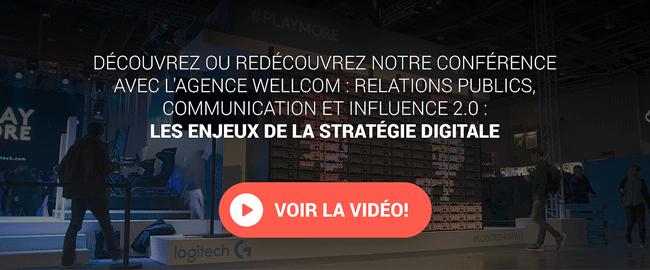 Influenceurs et nouvelles RP digitales :  Le cas Logitech sur le salon Paris Games Week