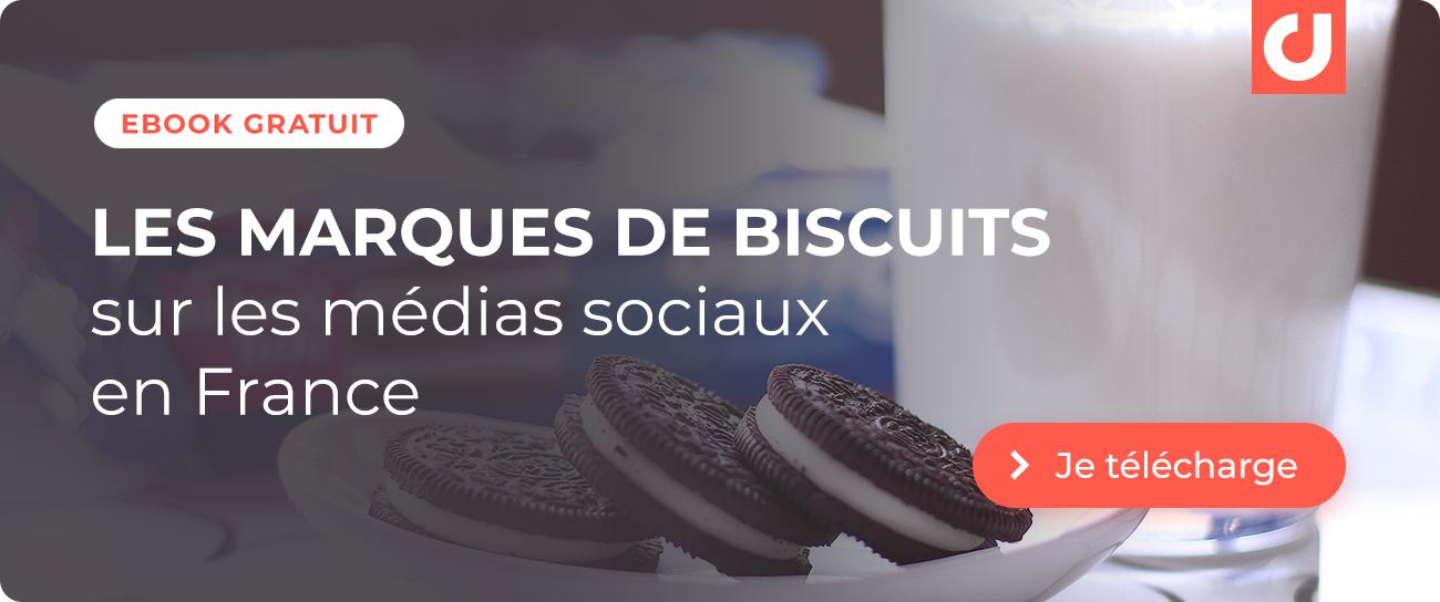 Je télécharge l'étude Les marques de biscuits sur les médias sociaux en France