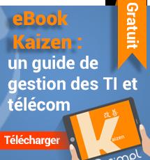 eBook Kaizen : un guide des gestion des TI et télécom