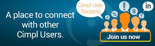 Join us now: Cimpl User Success Linkedin Group