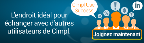 Joignez maintenant Cimpl User Success