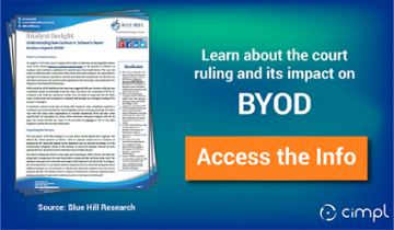 BYOD Court Ruling 2014