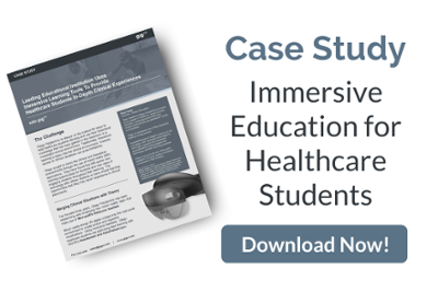 immersive education for healthcare students - case study- gigxr - image cta