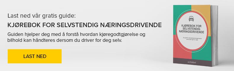 Kjørebok for selvstendig næringsdrivende - Last ned gratis guide