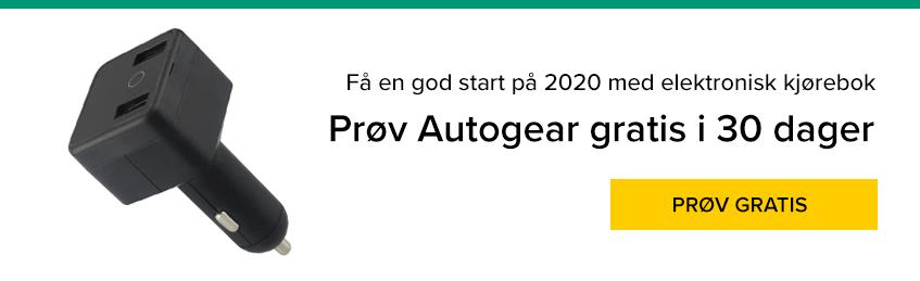 Få en god start på 2020 med elektronisk kjørebok