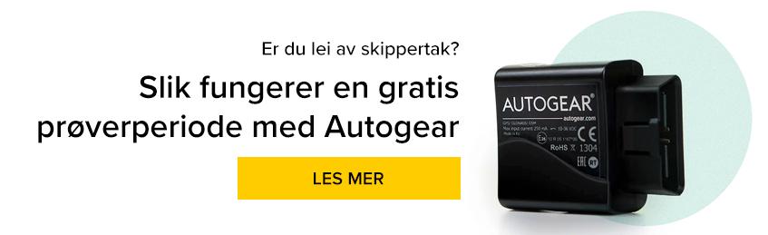 Er du lei av skippertak? Har du lyst til å prøve elektronisk kjørebok?