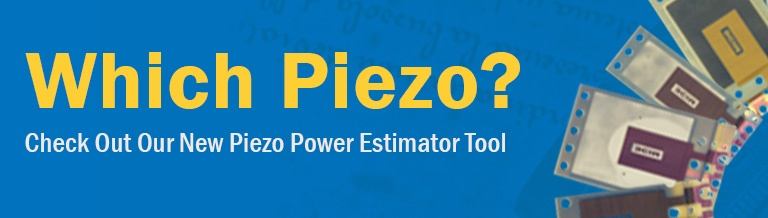 Piezo Power Estimator Tool