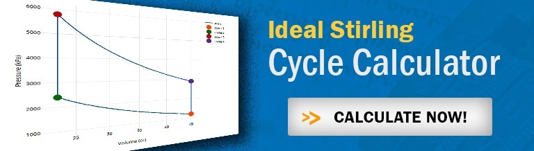 Link to Ideal Stirling Cycle Calculator