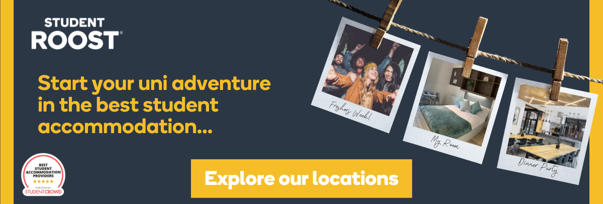 start your uni adventure in the best student accommodation