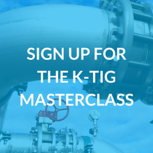 sign up for the K-TIG Welding Masterclass
