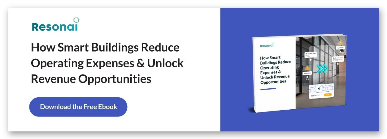 How smart buildings reduce operating expenses and unlock revenue opportunities