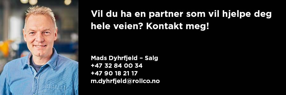 Kontakt Mads på Rollco