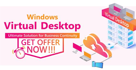 Windows Virtual Desktop Offer CTA