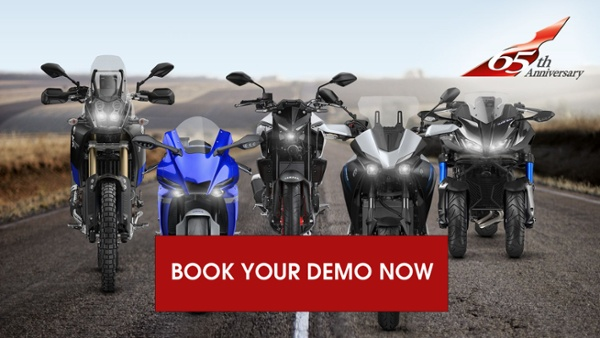 Book your 65th anniversary yamaha demo at P&H Motorcycles