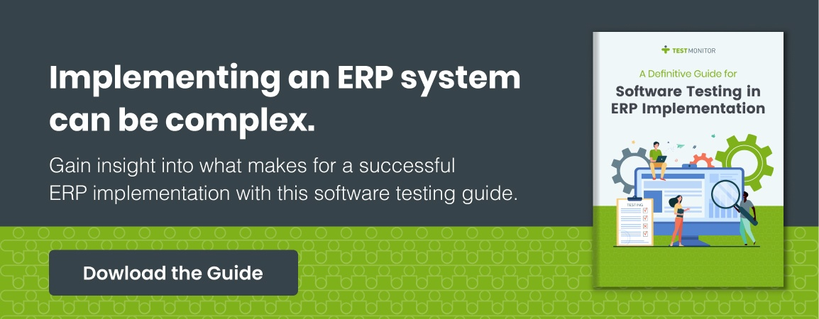 Implementing an ERP System software testing guide