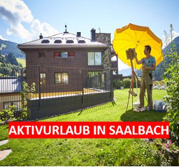 Saalbacherhof. MAler. Saalbach
