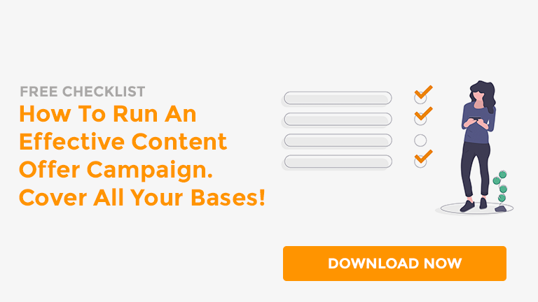 Download your free content offer campaign checklist