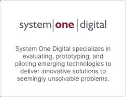 TwinThread Partner - System One Digital