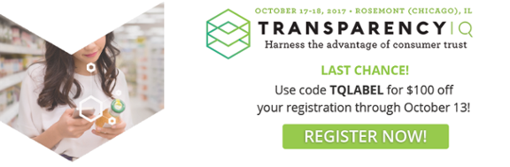 register now with promo code TQLABEL to save $100
