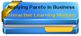 Applying Pareto 80 20 in business - interactive tutorial