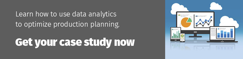 Optimize production planning with data analytics