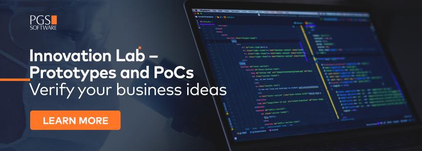 Innovation Lab - Prototypes and PoCs