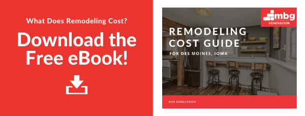 Download the Free Des Moines Remodeling Cost Guide eBook