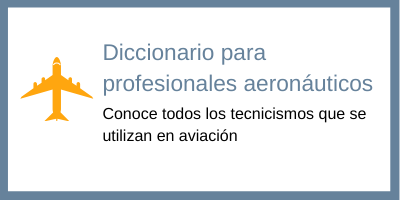 diccionario aviación