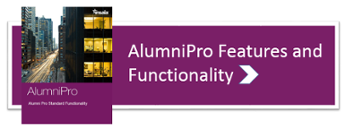 alumni pro features and functionality