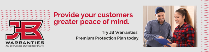 JB Warranties' Premium Protection Program for Plumbing & HVAC Extended Warranties