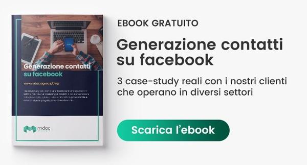 Scarica ebook - Generazione contatti su facebook