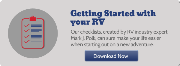 Checklists for getting started with your RV