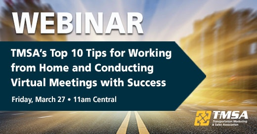 Free Webinar: Top Tips for Working from Home and Conducting Virtual Meetings with Success