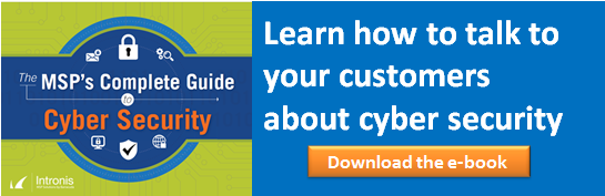 MSP's Complete Guide to Cyber Security