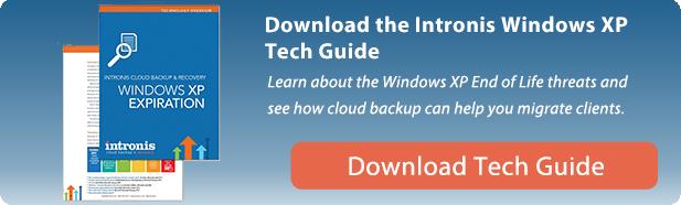 Intronis Windows XP Tech Guide