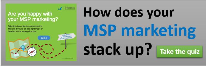 MSP Marketing Assessment