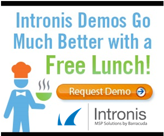 Intronis demo lunch